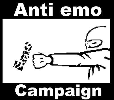 Устроим движуху против эмо